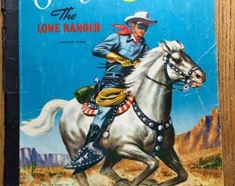 1950 Era Lone Ranger Scrap Book
