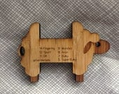 Sheep Spinners WPI Gauge - bamboo