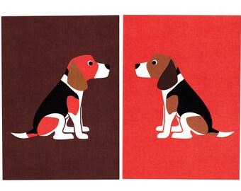 Beagle Giclee Print