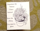 Important life lessons I have learned from the plants I've tried to grow