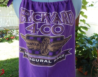 Brickyard 400 Inaugural Race 8/6/1994 Upcycled Women's Tank Top T-shirt Summer Shirt, Festival Halter Top, Upcycled Shirt, OOAK, Tank Top