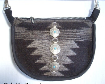 Topanga canyon fanny pack with small conchos