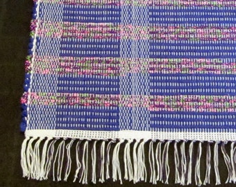 """Rag Rug """"Heliotrope Bouquet"""" Short and Sweet"""