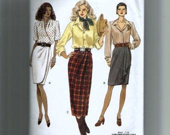Vogue Misses' Skirt Pattern 8541