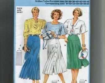 burda Skirt Pattern 6525