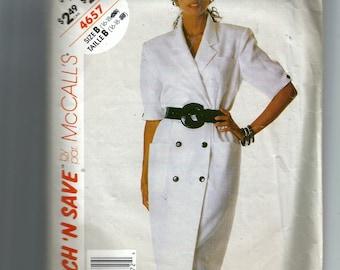 McCall's Misses' Dress Pattern 4657