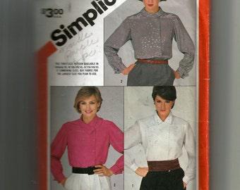 Simplicity Misses' Blouses Pattern 6159