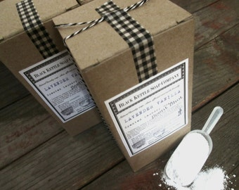 Laundry Soap try PATCHOULI & VANILLA BEAN  Shipping Included ... Black Kettle