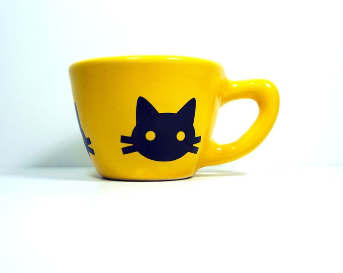 12oz cup kitty cabeza - Made to Order / Pick Your Colour