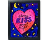 Always Kiss Goodnight art...