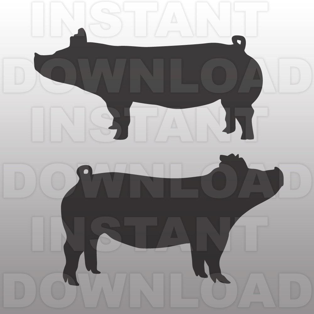 Show pig | Etsy