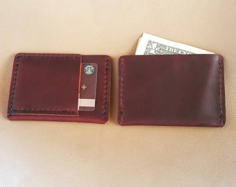 Ultra Slim Leather Wallet Horween Chromexcel