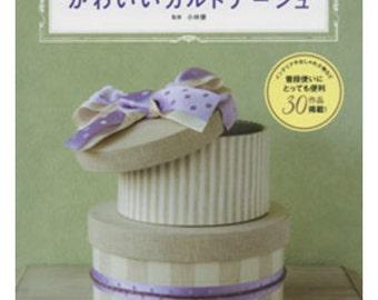 Cartonnage Box Making Book Japanese Craft