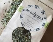 Healthy Hair Tea - herbal rinse with nettle, sage, rosemary, horsetail, and yerba santa