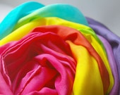 Extra Large Playilk Canopy, You Choose Colors or Colorway (4 x 9 feet)