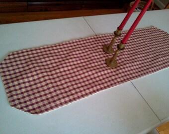 Handmade Homespun Table Runner Country