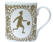 Football Boy Olive Columbia Road Mug