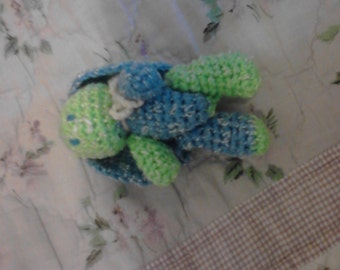 4in Seahawk Variegated Bunny Toy