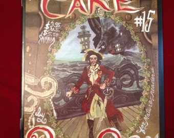 Meat Cake , Number Fifteen , Dame Darcy , Fantagraphics , Alternative , comics , comix , zines , gothic , lolita , dark fantasy , avante gua