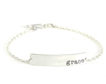 inspiracelet message link bracelet - GRACE