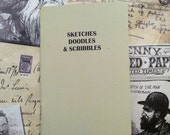 Pocket Notebook- Sketches Doodles and Scribbles