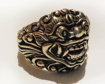 Baliense Barong God of Good Ring