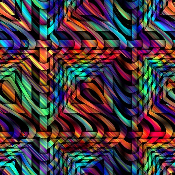 Textile Artist Created Canvas Fabric Fiber Art Marble Fabric Home Decor Upholstery