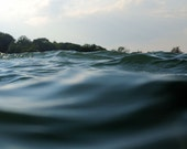 Ocean Art - Seascape Photograph - Intimate Waterscape - Within Waves 6