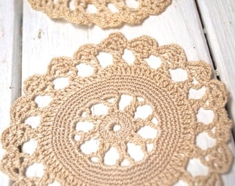 Cape Flower Circle Doily - wedding - engagement - creating supply