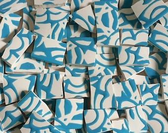 Mosaic Tiles-Aqua Calypso- 75 tiles