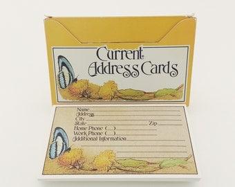 Vintage Address Note Cards