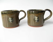 Skull Espresso Cups Set of 2