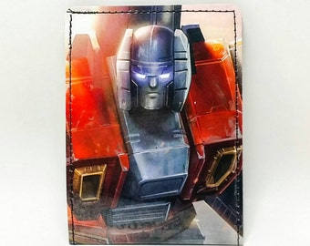 Sewn Comic Book Wallet - Transformers - Air Raid