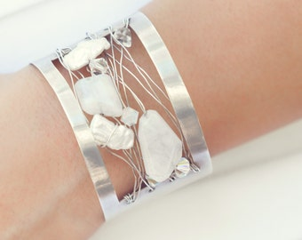 Brilliant Sterling Silver Cuff