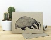 Badger card
