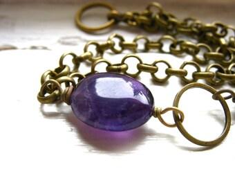 Amethyst Bracelet, Amethyst Gemstone Bracelet , Handmade Jewelry, Purple , Gemstone Jewelry, Amethyst Bracelet, Birthstone Jewelry