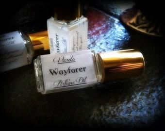 Wayfarer Perfume Oil -  Musk Amber Patchouli Sandalwood Cedar