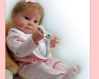 """Reborn Baby Unpainted Reborn Baby Kit Pinky  22""""  Head and Limbs. Two Styles"""