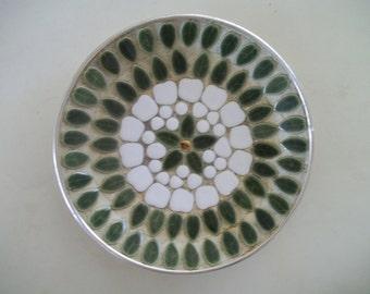 Midcentury Mosaic Plate