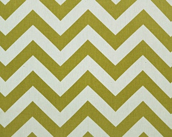 Premier Prints Zig Zag CHEVRON Fabric by the Yard. Village Green Cotton Home Decor Fabric Yardage.  Destash Fabric for Sewing Crafts Bedding