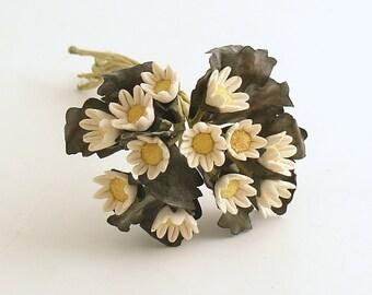 Vintage Flower Picks Daisy Millinery Corsage Picks
