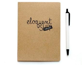 Writing Journal - Stocking Stuffer - Gag Gift - Mature