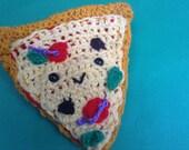 Pizza slice amigurumi