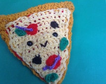 Pizza slice amigurumi SALE
