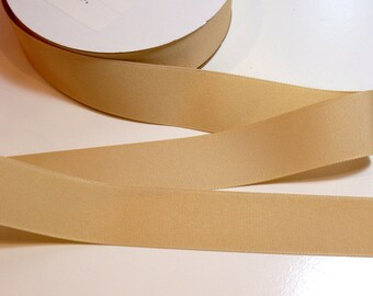 Beige Ribbon, Offray Natural Beige Grosgrain Ribbon 1 1/2 inches wide x 10 yards