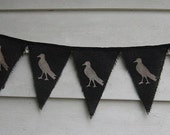 Primitive Crow Banner TheHowlingHag