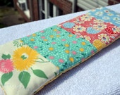 Cute Pencil Case Vintage Style Zipper Pouch Quilted Pencil Case Pencil Bag Pencil Pouch Makeup Bag Patchwork Zipper Pouch Travel Sewing Case