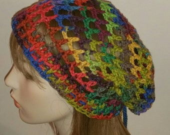 Primary Mesh Slouch Beanie Dread Tam