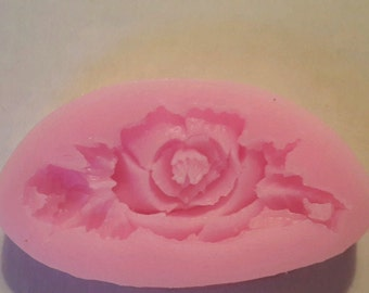Rose in Full Bloom Silicone Fondant Mold DIY Mold Cake Decorating