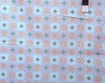Dena Designs PWDF127 Pretty Little Things Gracie Blue Cotton Fabric 1 Yard